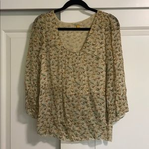 Leifsdottir by Anthropologie Bird Blouse